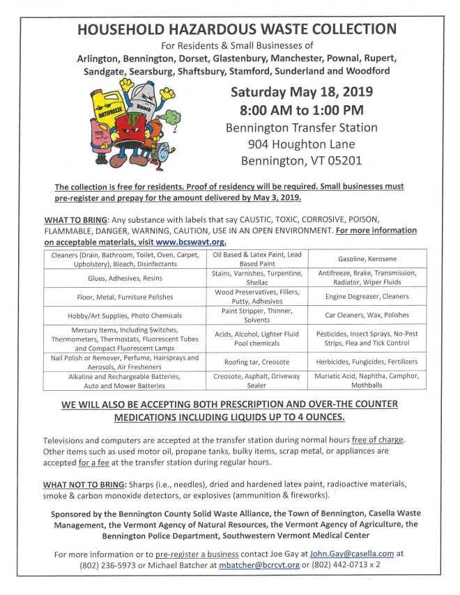 HHW Day Flyer 5-18-19
