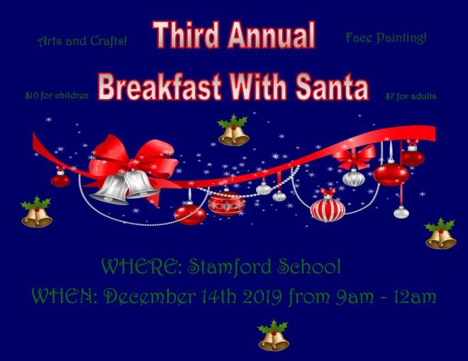 Breakfast with Santa Flyer 12-14-19